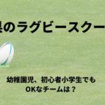 千葉県の小学生向けラグビースクール一覧!幼稚園児や初心者でもOKなチームは?