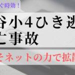 【拡散希望】熊谷・小4男児ひき逃げ死亡事故が間もなく時効!今こそ「拡散」すべきでは?