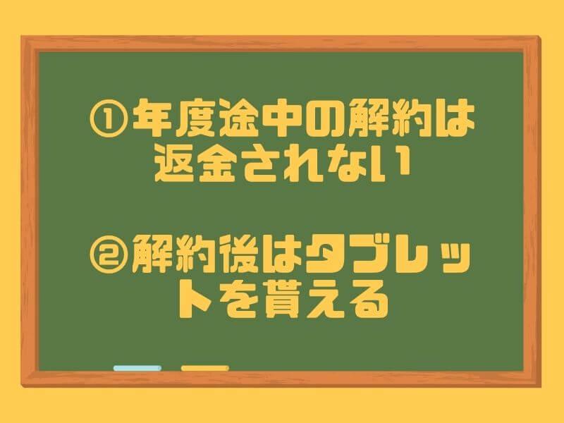 RISU算数の解約方法